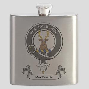 Badge-MacKenzie [Cromarty] Flask